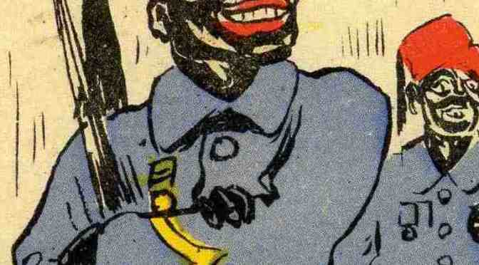 La force noire vue par la propagande durant la Grande Guerre