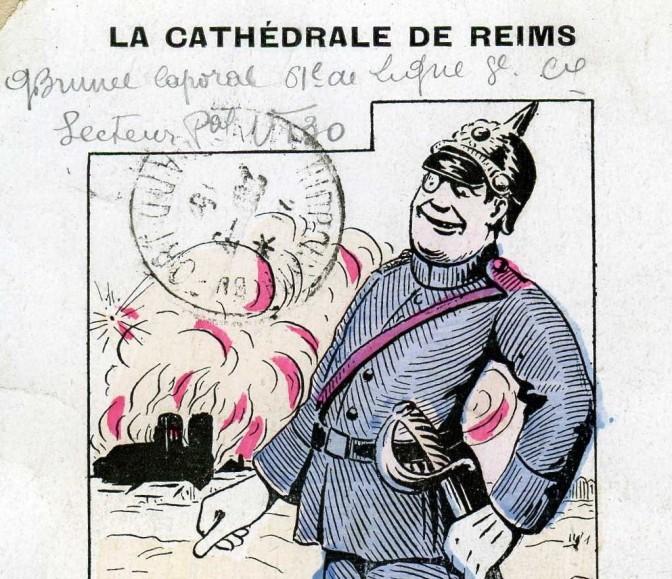 La carte postale du jour «Nous n'aimons que le gothique flamboyant»