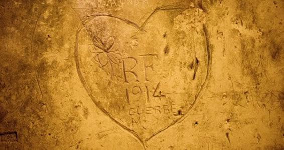 #reims1418:  la guerre a laissé des traces dans les caves Taittinger