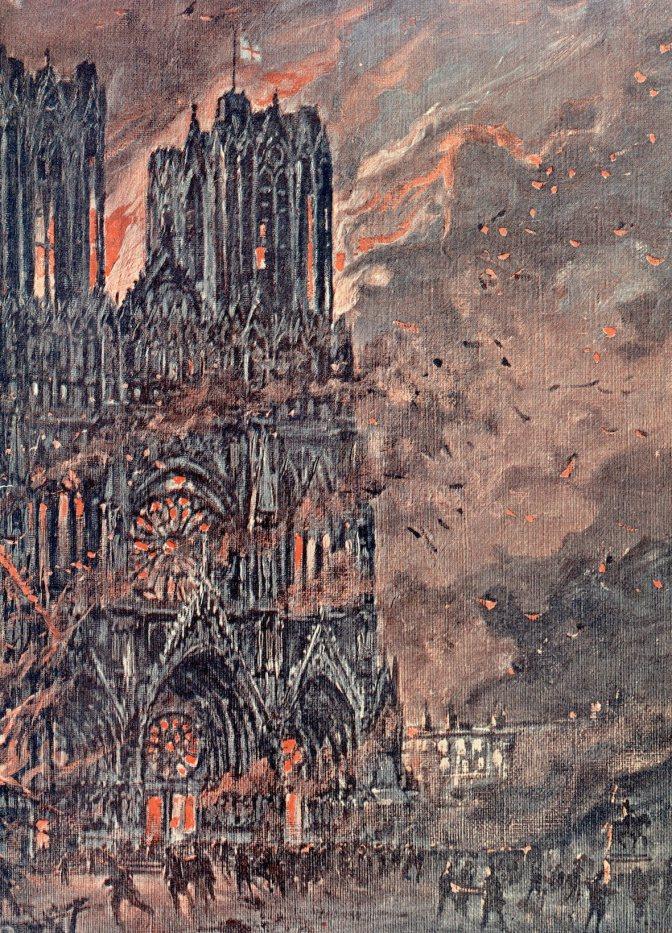 #reims1418 :Un film de Gilbert Coutelet sur Reims ville martyre