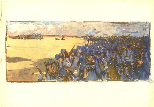 Mathurin Méheut : croquis de guerre