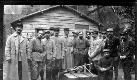 Décembre 1916 cours de FM à châlons sur Marne