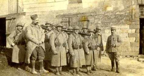 1 janvier 1917 3e section 4 CM Courtisols (photo Georges Gras)