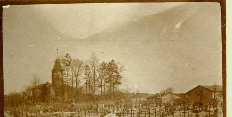 Février 1917 La croix en champagne