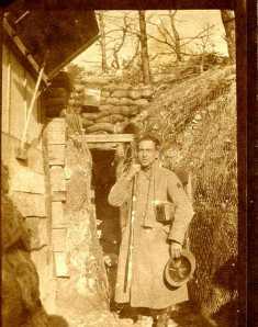 17 novembre 1916 pc de la 4e CM secteur de FONTAINE VAUCLUSE 5CHAMPAGNE° MON AMI vAN bEVE