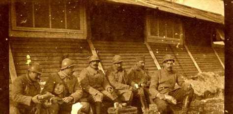 16 février 1917 à saint jean sur tourbe