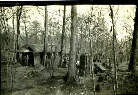 avril 1917 Ouvrage aurousseau dans le bois de Beau Marais
