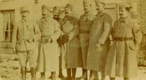 14 janvier 1917 les sous officier de la 4ème cm
