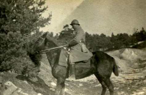 Février 1917 Navire et moi  (photo Georges Gras)