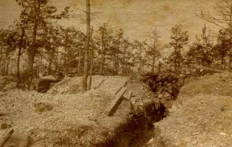 11 novembre 1916 : 3e section 4 cm (photo Georges Gras)