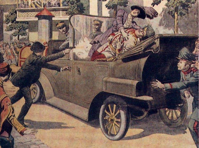 28 juin 1914: un attentat à Sarajevo va enflammer le monde | 1914 ...