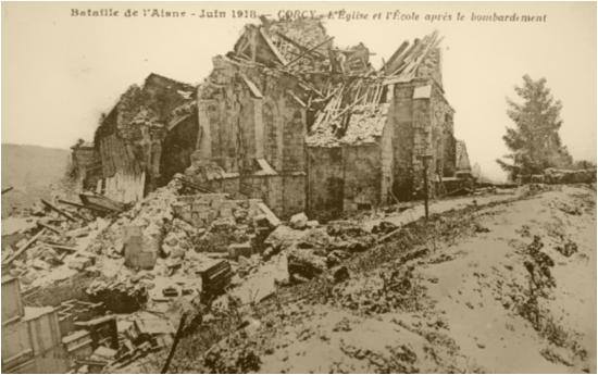 10/ 10 Flandres, Oise, Picardie, Georges Gras entre en Lorraine et à Sarrebruck