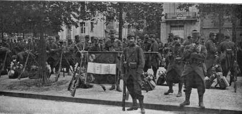 Le drapeau du 102 ème régiment d'infanterie