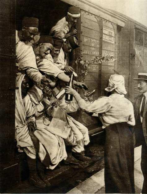AOUT 1914 trailleurs algeriens