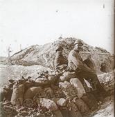 A proximité du fort de la Pompelle