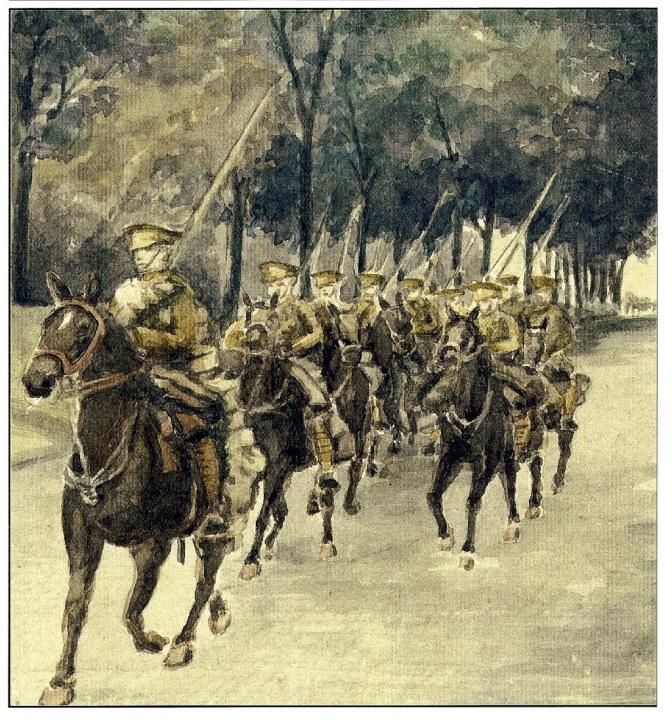 Moy de l'Aisne: jeudi 28 août  Journée commémorative la charge du 12e Lanciers britannique