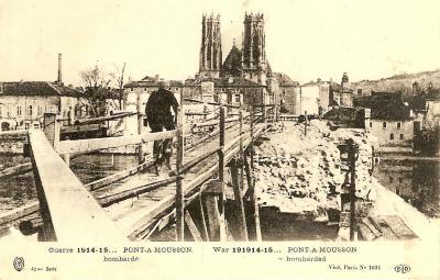 Pont a Mousson bombarde