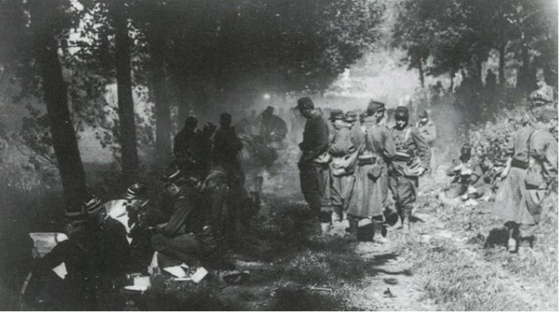 Massacre Tamines 1914 1918 Reims Dans La Grande Guerre