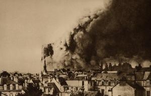 cathédrale de Reims septembre 1914