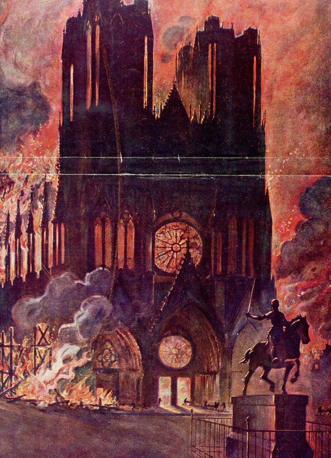100 ans plus tard, la cathédrale vous parle par la voix d'Estelle Bertot