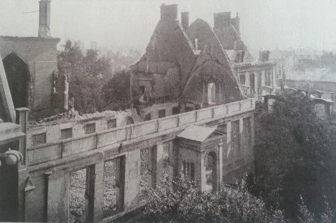 L'Archevêché vu de la cathédrale de Reims