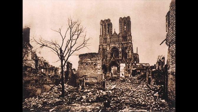 56/Journal de la grande guerre: 29 septembre 1914 Albert Londres pleure la cathédrale de Reims