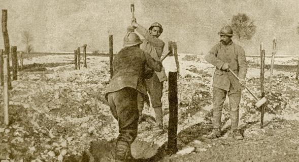 (VIDEOS) Le front se fige de l'Aisne à l'Argonne