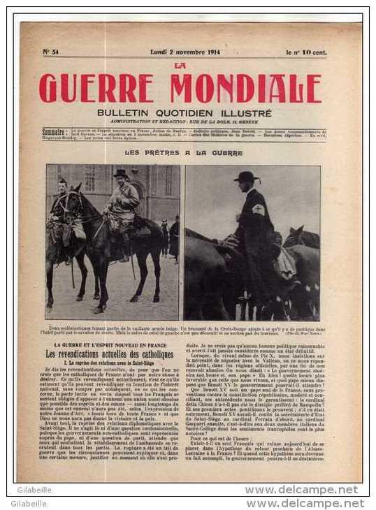 90/Journal de la grande guerre: le 2 novembre 1914