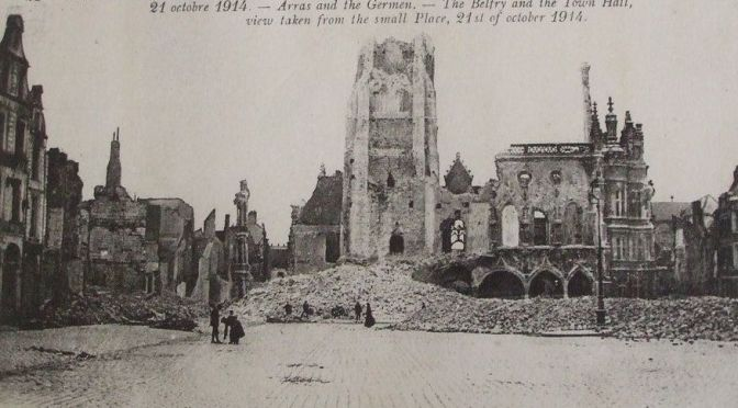 Arras le commencement du martyr