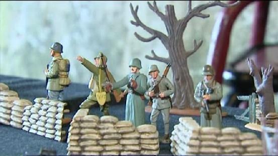 Vosges: la Grande guerre en figurines