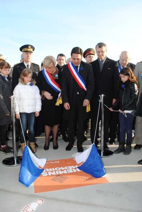 """inauguration du premier """"chemin de mémoire"""""""