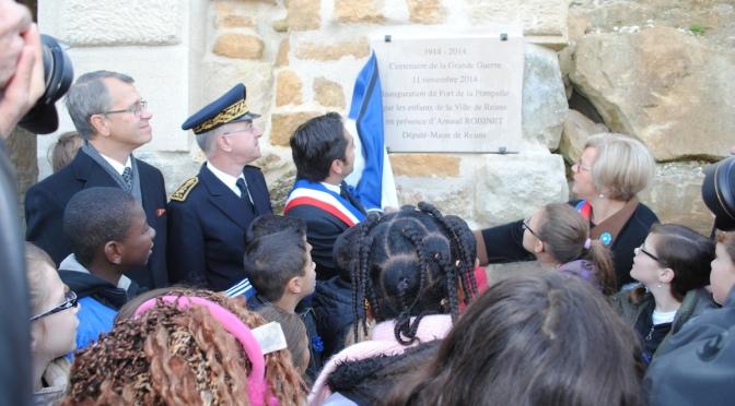 (2) (vidéo) 11 novembre à Reims  Arnaud Robinet appelle à «une vigilance collective»