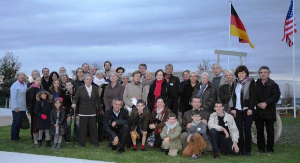 Commémoration familiale à la nécropole de Sillery (51) 100 ans après