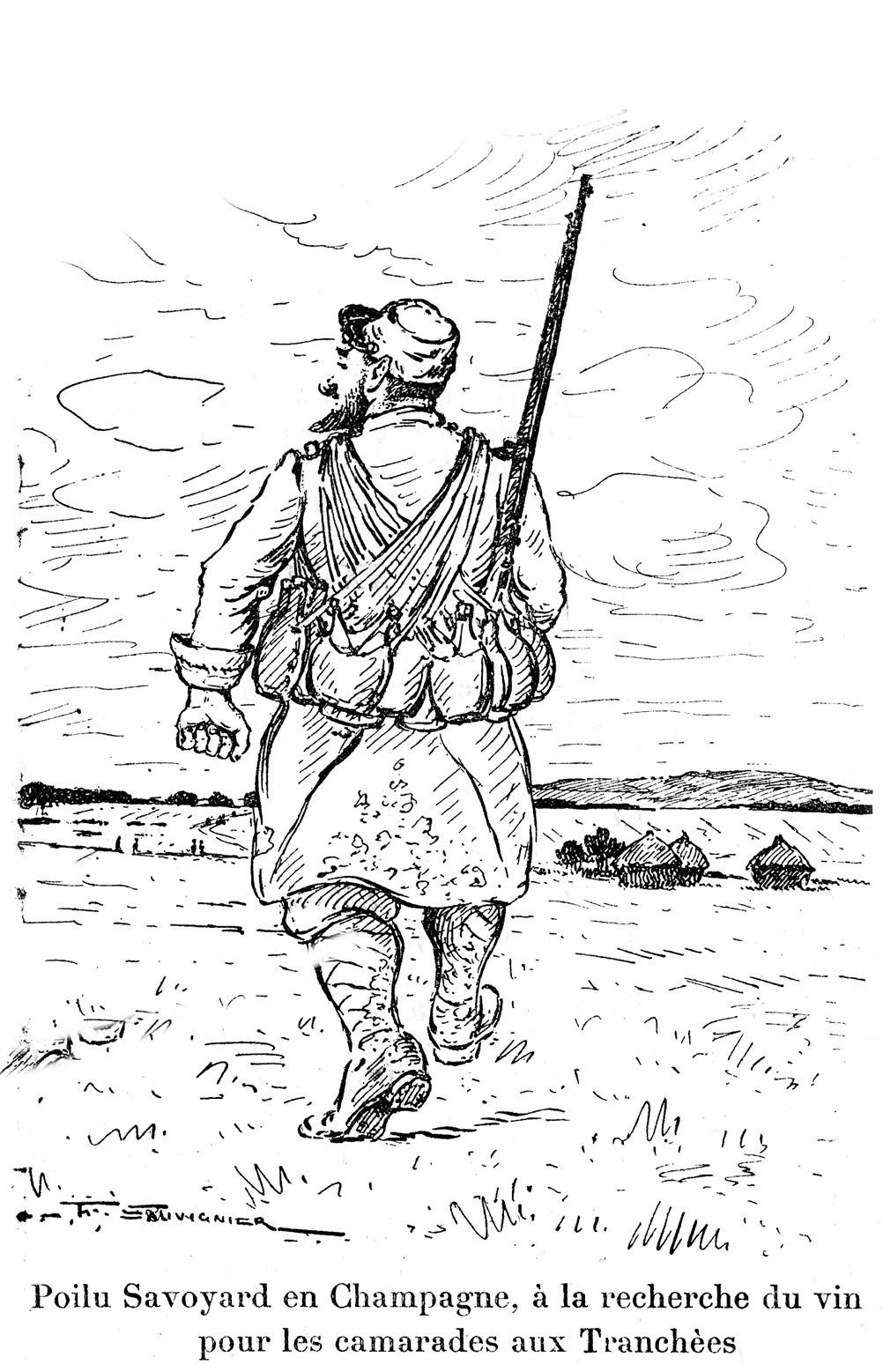Novembre 2014 1914 1918 reims dans la grande guerre - Dessin de poilu ...