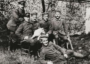 hitler en 1914