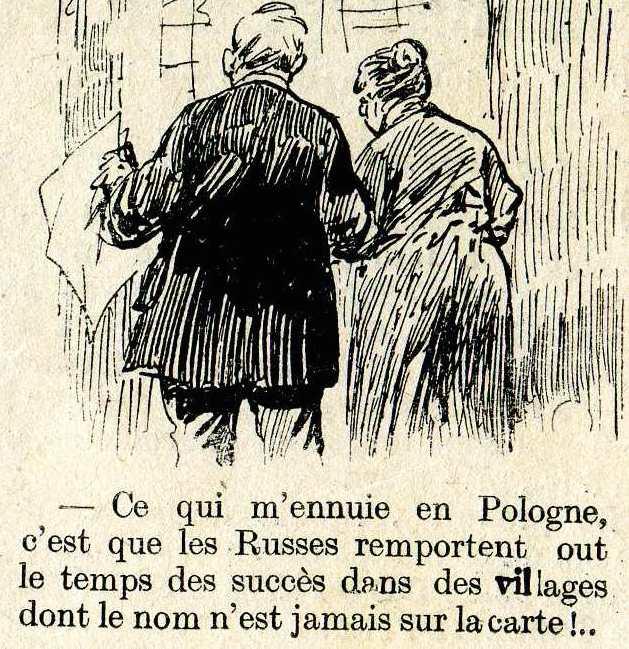 Humour dans L'illustration du 28 novembre 1914
