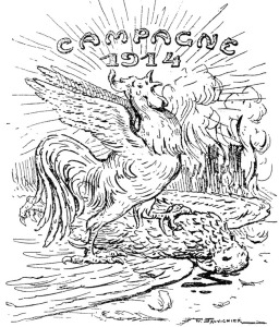 Humour 1914 1918 reims dans la grande guerre - Dessin de poilu ...