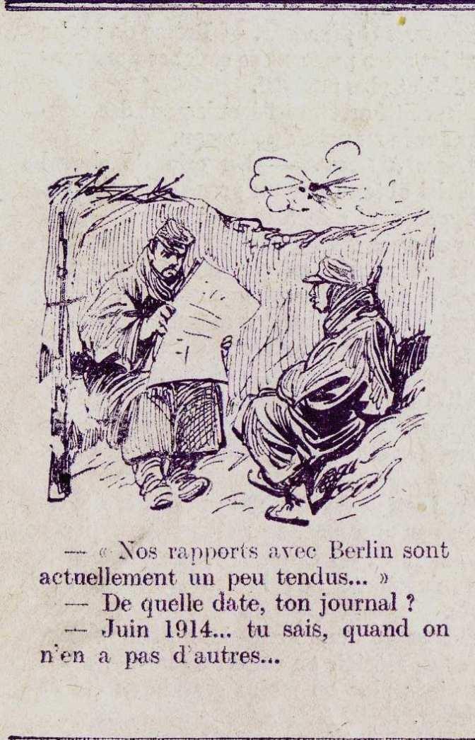 Humour: dans L'Illustration du 7 décembre