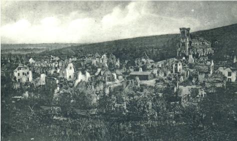 Steinbach – village détruit par les bombardements