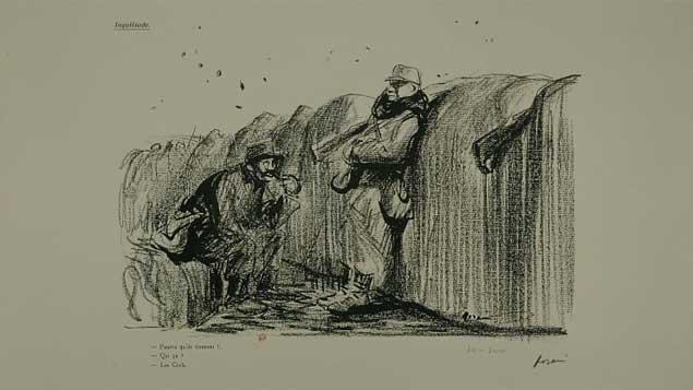 (podcast) 9 janvier 1915: le scandale Forain, tout çà à cause d'un dessin