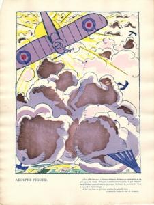 Un dessin de Robert Bonfils (1886-1972)