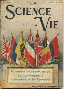 La science et la Vie Janvier 1915
