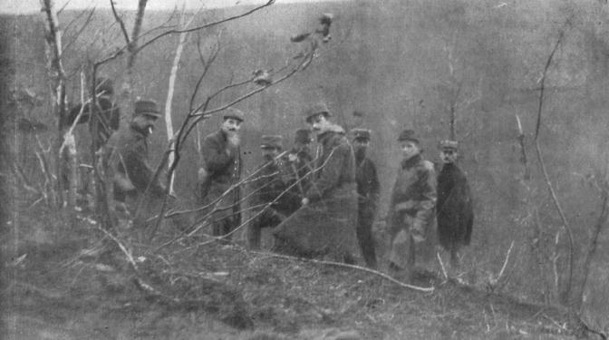 213/journal du 5 mars 1915: les Garibaldiens et tous les Italiens doivent rejoindre l'Italie