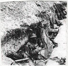 182/journal du 2 février 1915: peaux de bêtes pour lutter contre le froid à Thil (51)