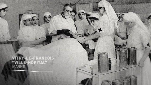 14-18 : Vitry-le-François, ville hôpital