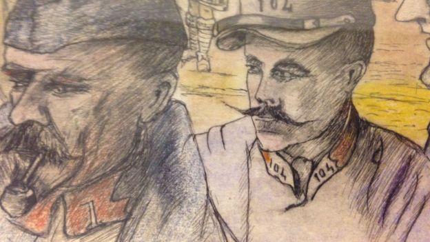 Liège: les dessins du soldat Maxime Bourrée, prisonnier en 14-18