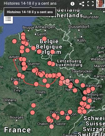 Sur France3 régions: 680 histoires de 14-18  en vidéo