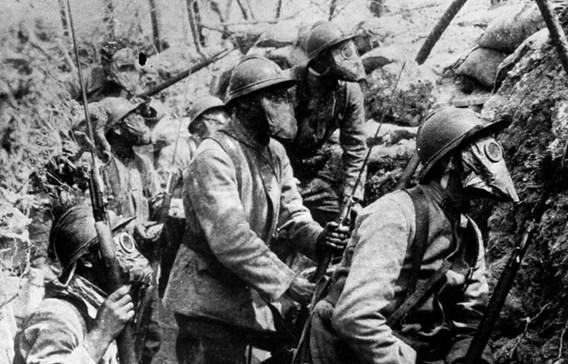 La première attaque au gaz d'Ypres hante encore les mémoires