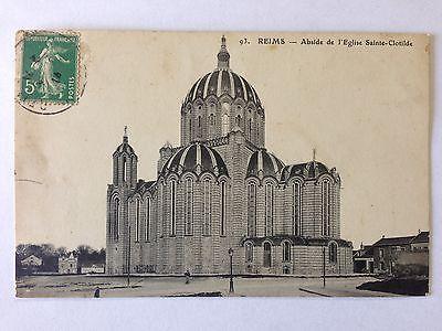 287/journal du18 mai 1915: les archives de Reims dans l'église Sainte Clotilde