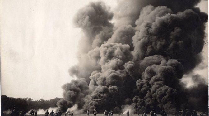 306/journal du 6 juin 1915: Attaque au lance-flammes sur la butte de Vaquois (Argonne)